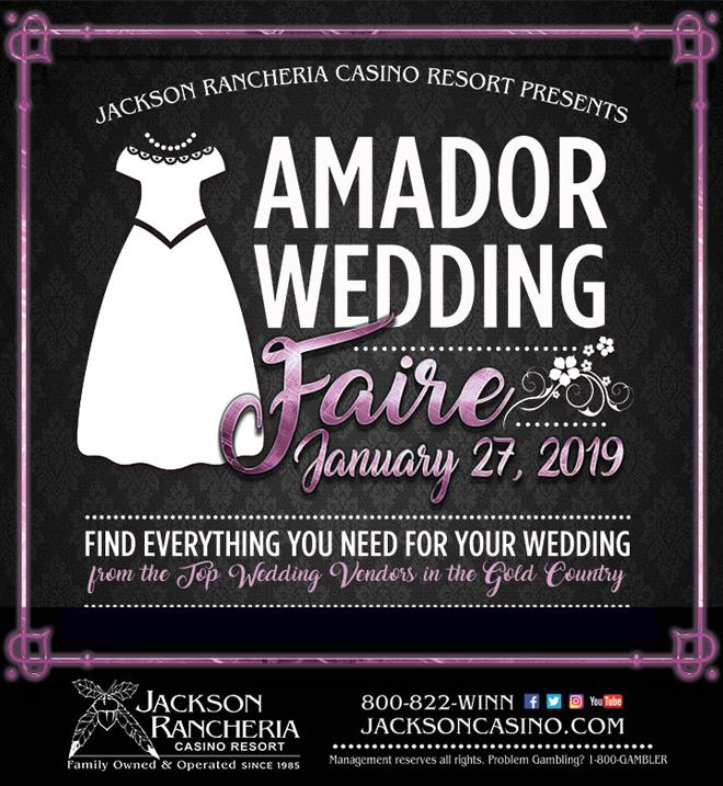 Jackson Wedding Show | Sacramento Bridal Show | Jackson Rancheria Casino