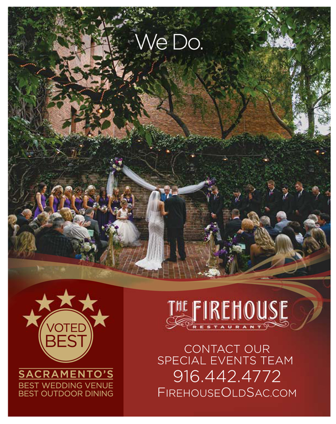 Sacramento Wedding Venue | Garden Wedding Venue | Intimate Wedding Venue | Old Sacramento | Outdoor Wedding Venue