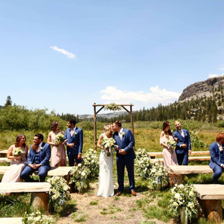Kirkwood Mountain Resort Meadow Weddings-Sacramento Real Weddings Magazine Venue