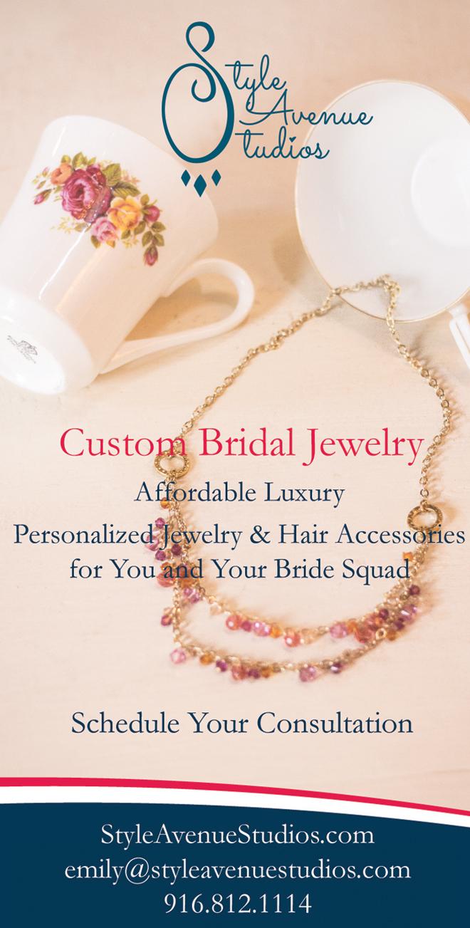 Custom Bridal Jewelry | Sacramento Wedding Jewelry