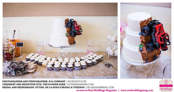 Sacramento Wedding Cake