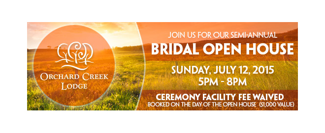 Orchard Creek Lodge_Bridal Open House_Sacramento Wedding Event