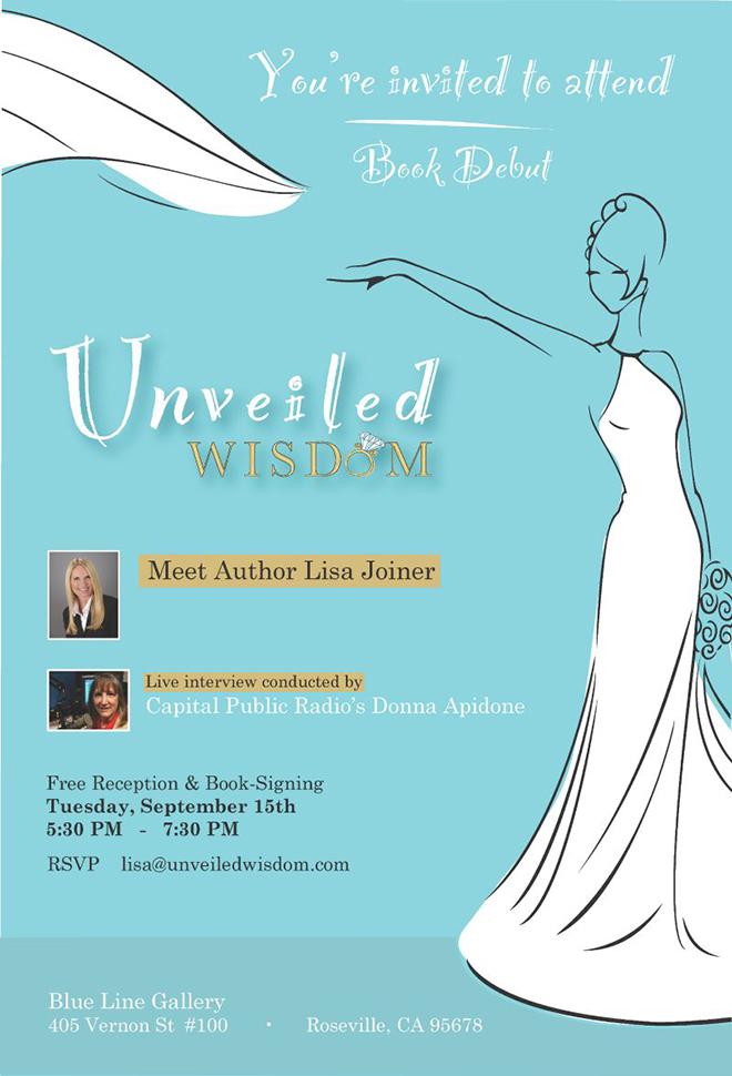 Invite to Book Debut