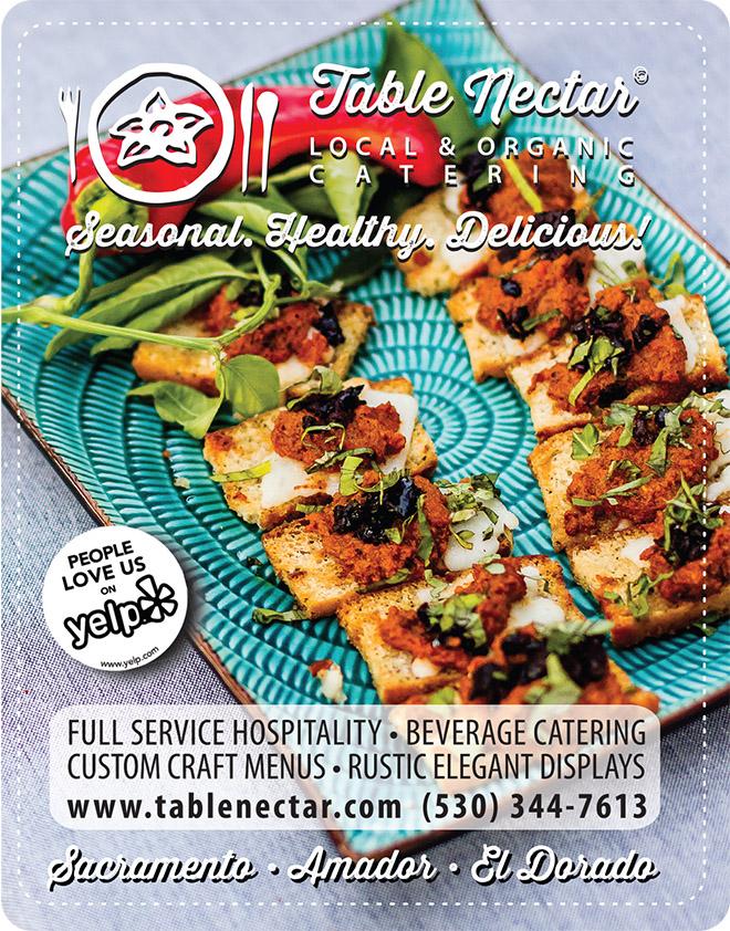 Table Nectar | Organic Catering | Best Sacramento Caterer | Wedding Catering | Organic Wedding Caterer