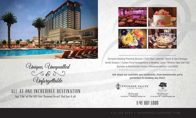 Sacramento Wedding Venue | Lincoln Wedding Venue | Casino Wedding Venue