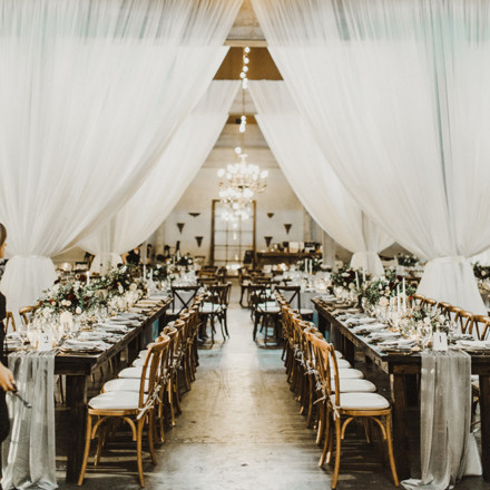 Willow Ballroom Event Center - Hood-California - Industrial Warehouse Chic-Real Weddings Sacramento Magazine