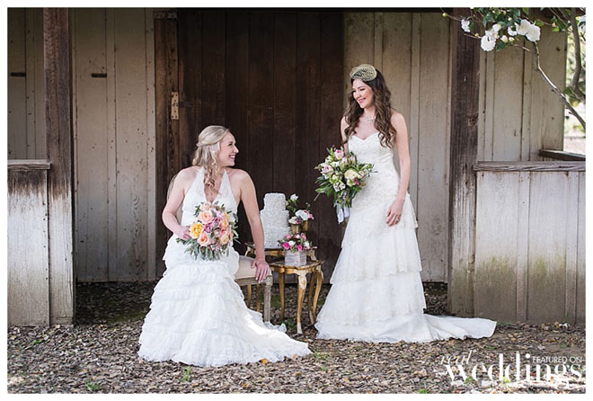Behind The Scenes | Blushing Beauties | Woodland Wedding Inspiration | Behind The Scenes Magazine Photo Shoot | Mariea Rummel | The Maples Woodland