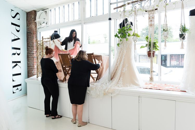 Sacramento Wedding Gowns | SPARKLE bridal couture | Plus Size Wedding Gowns | Curvy Wedding Gowns | Best Sacramento Wedding Gowns