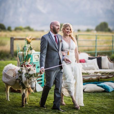 100 Proof Bar Service Carson Valley Nevada Wedding Cocktails Bartenders Burro Rentals Real Weddings Magazine