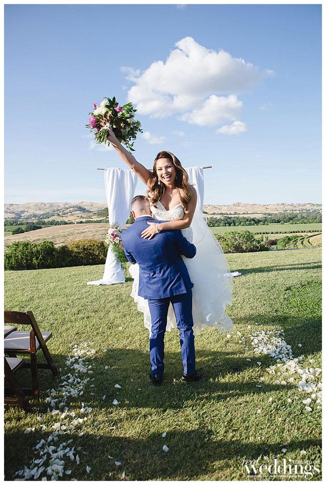 Emily Tidwell Photo | Capay Wedding | Featured Real Wedding |Gaby & Ryan | Gabriela \ Blossom Farm Vintage Rentals