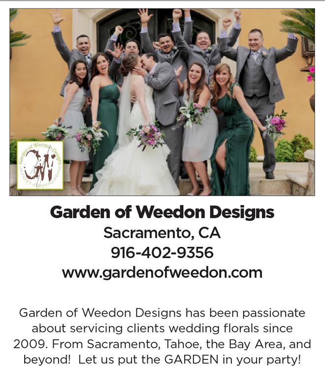 Garden of Weedon Designs | Sacramento Wedding Flowers | Best Sacramento Wedding Florist
