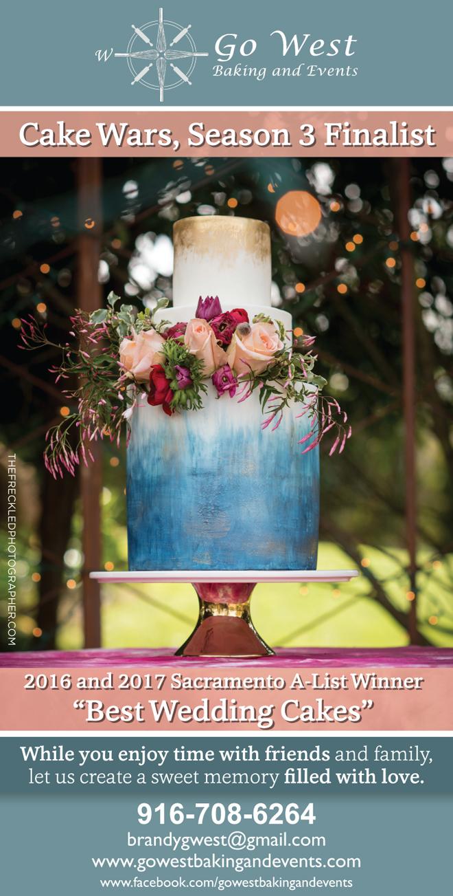 Sacramento Wedding Cakes | Wedding Desserts | Northern California Wedding Cake | Tahoe Wedding Cake