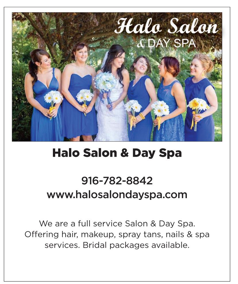 Halo Salon & Day Spa   Roseville Wedding Beauty   Best Sacramento Wedding Salon