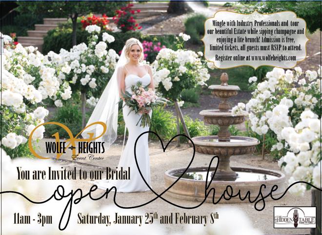 Wolfe Heights Sacramento Wedding Venue   Sacramento Bridal Open House