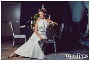 Sacramento Real Weddings Magazine Modern Love Photo Shoot. Shot by Dee & Kris Photography on location at Kimpton Sawyer Hotel featuring real bride Samantha Raggio.