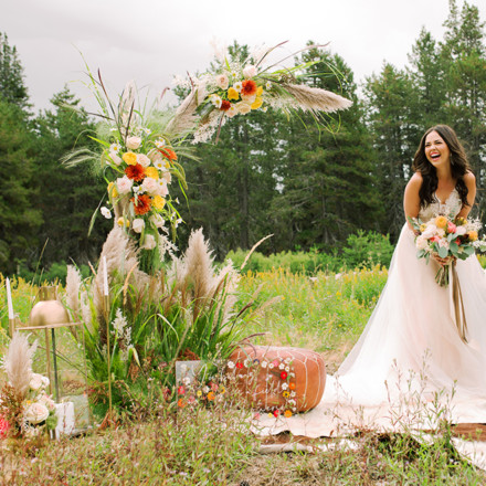 The Bloom Lab-Sacramento-Wedding Bridal Bouquet-Flowers-Real Weddings Magazine