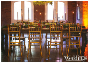 Chris Morairty Photography photographed the This Is Me styled shoot for Real Weddings Magazine at Arcade Underground.