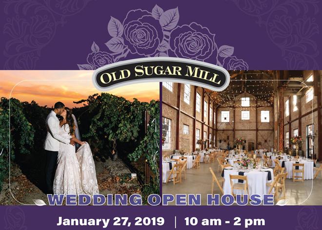 Sacramento Bridal Show, Northern California Wedding Show, Bridal Open House, Wedding Open House, Winery Open House, Old Sugar Mill