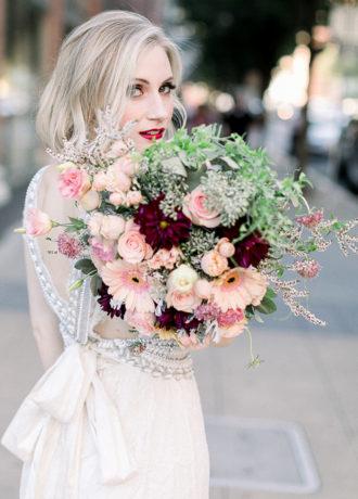 Real Weddings Magazine Special Offer Discount Relles Florist Bridal Flowers | Best Sacramento Tahoe Northern California Vendors