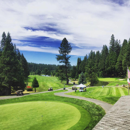 Sequoia Woods Golf Course Club Wedding Venue-Real Weddings Magazine - Arnold California