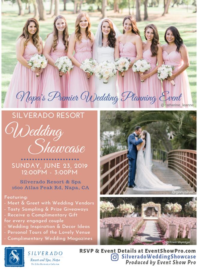 Sacramento Bridal Show   Northern California Wedding Event Open House   Napa Wedding Planning   Silverado Resort