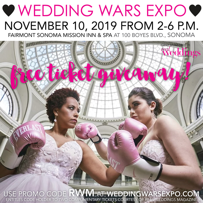 Bay Area Bridal Show | Wedding Wars Expo | San Francisco Wedding Expo | Best Northern California Wedding Show | Northern California Bridal Show