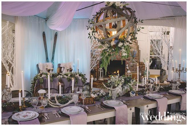 Winter Wedding | Viking Wedding | Nordic Wedding | The Maples \ XSiGHT Photography | Woodland Wedding