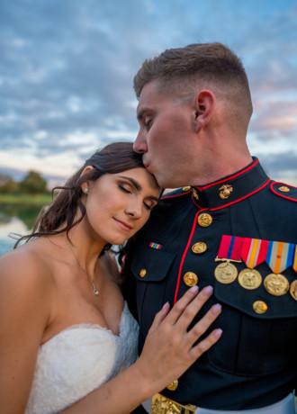 Marissa and Johnathan JB Wedding Photography military wedding in Sacramento