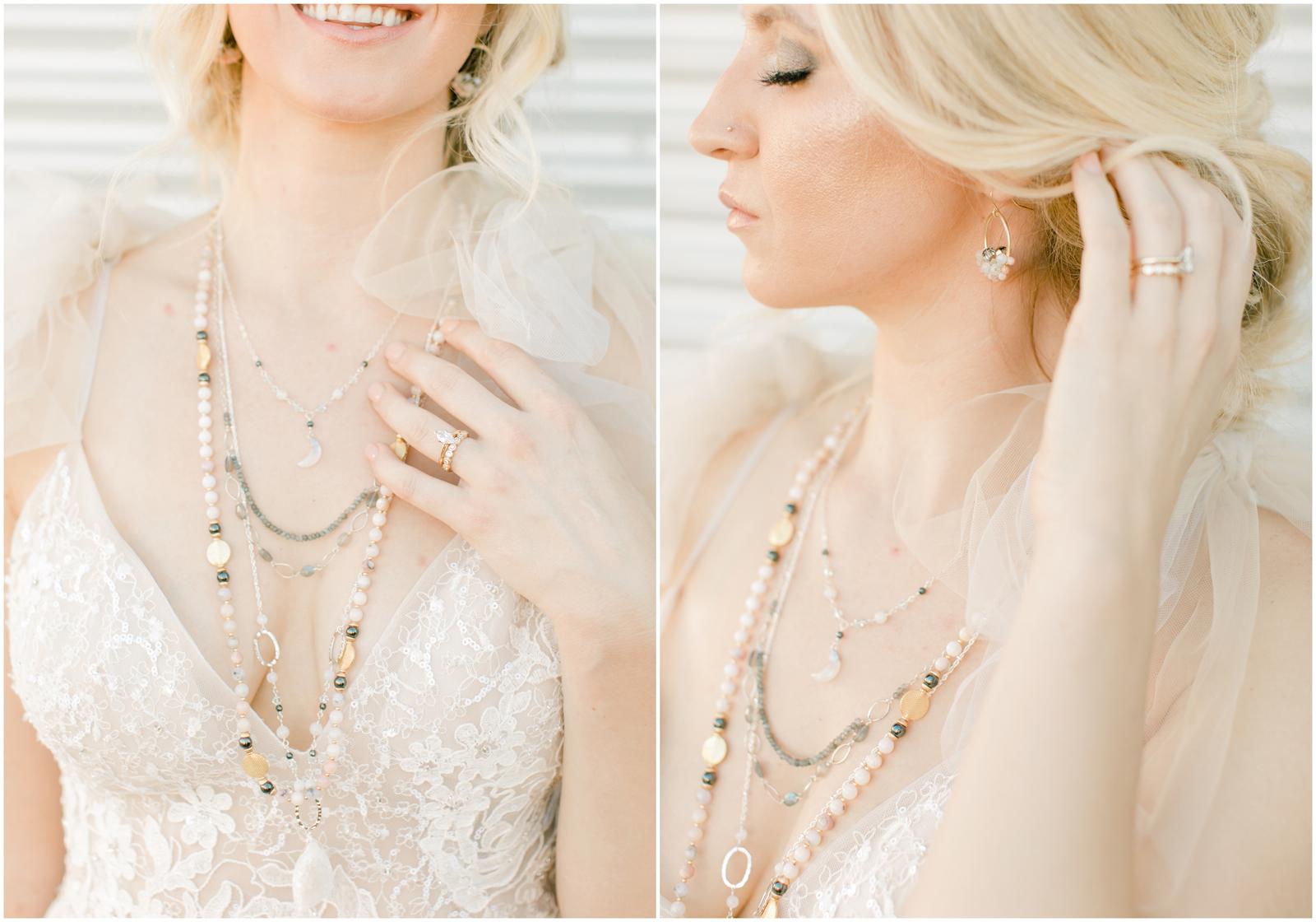Real Weddings Magazine Contest Giveaway Style Avenue Studios Custom Bridal Jewelry Celestial  | Best Sacramento Tahoe Northern California Vendors