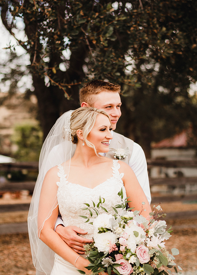 Cassidy & Trevor's Rustic Ranch Wedding featured in Real Weddings Magazine