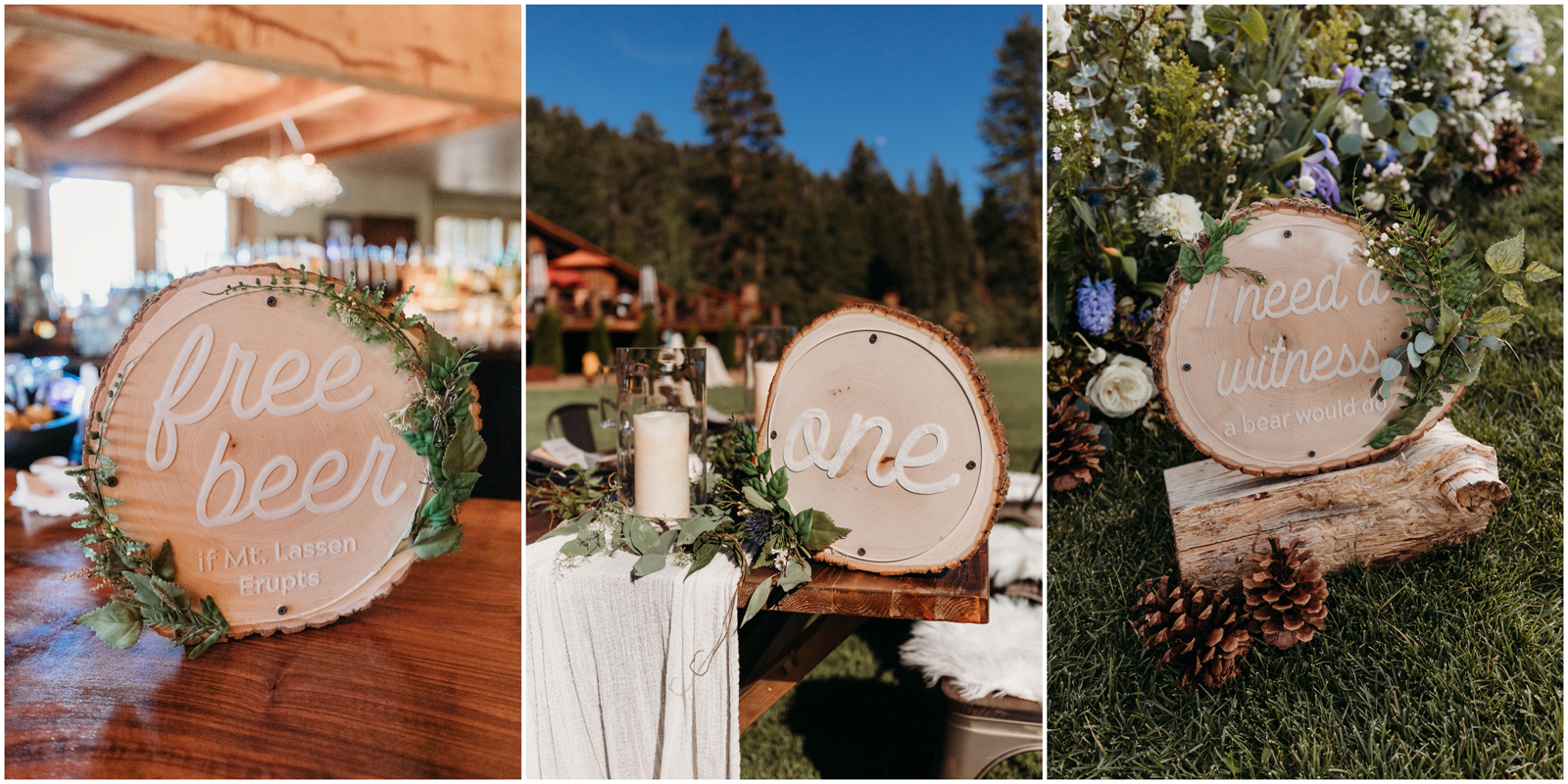 Real Weddings Magazine Contest Giveaway Swoonable Custom Signage | Best Sacramento Tahoe Northern California Vendors