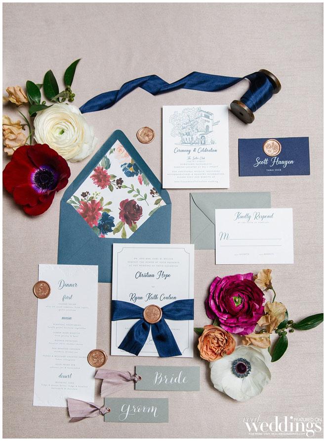 Elegant Modern Wedding   Sacramento Wedding   Jenn Robirds   Andrew & Melanie Photography