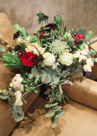 Placerville Flowers On Main-Bridal Bouquet-SF19-1