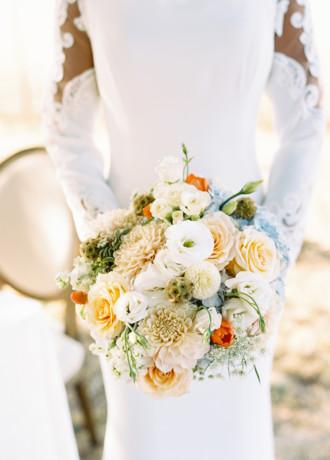 Strelitzia Flower Company-Bridal Bouquet-WS20-1