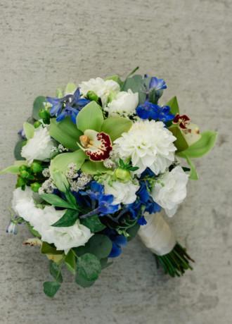 Strelitzia Flower Company-Bridal Bouquet-WS20-2
