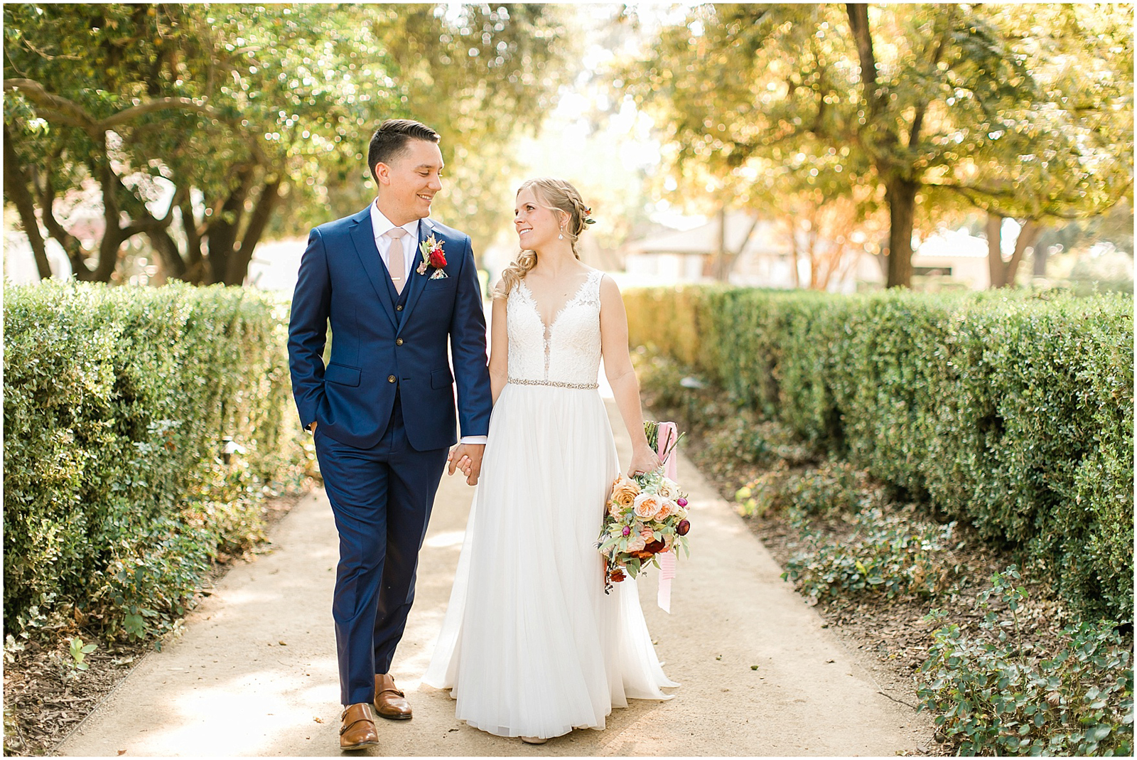 Karen & Michael's Wedding by Hailey Ayson Photography at The Maples Woodland
