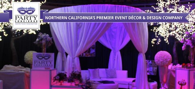 Sacramento Wedding Rentals | Sacramento Wedding Decor | Balloon Decor | Ice Carvings